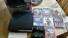 Sony PlayStation 3 PS3 - 320GB Spielkonsole mit zwei Controller und 7 Spielen