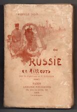 THEOPHILE CALAS EN RUSSIE ET AILLEURS 1895 EO VOYAGE TURQUIE ALLEMAGNE ITALIE