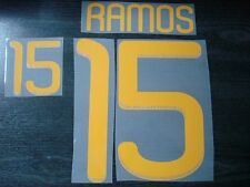 RARE! RAMOS #15 Spain Home and Away WC 2010 PU Name + Numbering