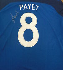 Dimitri Payet signed France Euro 2016 home shirt Extra Large Mens Brand New
