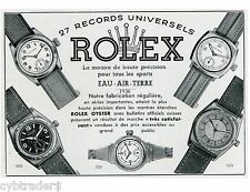 1936 Rolex Oyster Watch  Ad Swiss Print  NEW! Refrigerator Magnet