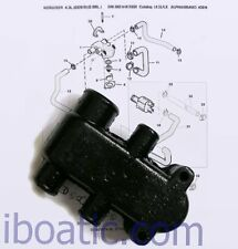 Boitier thermostat moteur V6 V8 MERCRUISER embase BRAVO