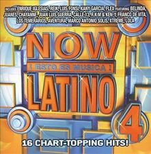 Now Latino Now Esto Es Musica Latino 4 CD