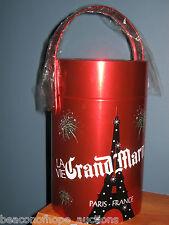 Grand Marnier Liquor La Vie Tin Paris France Ice Bucket Lapostolle Bar 2011 New
