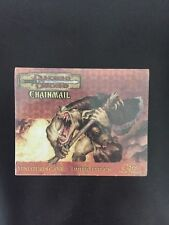 D&D Chainmail Miniatures: Ogre Mercenary Limited Edition Drazen's Horde Sealed