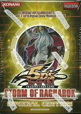STORM OF RAGNAROK SPECIAL EDITION SP Yugioh NEW SEALED 3 Booster Packs  + Promo