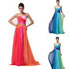 Mother of the Bride Long Ball Gown Party Prom Evening DRESS Size Stock 6-8-10-12