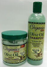EXTRA VIRGIN OLIVE OIL SHAMPOO & DEEP CONDITIONER FOR HAIR CARE /HAIR TREATMENT