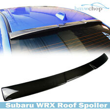 Carbon Fiber V-Look for Subaru WRX STI 4DR Saloon15-16 Window Roof Boot Spoiler