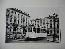 B248 - 1950s TRAMWAYS BRUXELLOIS - TRAM No1944 Route 17 PHOTO Belgium