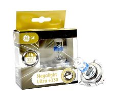 GE General Electric H4 MegaLight Ultra +130% 2 pcs. P43t 50440XNU NEW