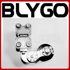 SILVER Universal Motorcycle Alloy Adjustable Chain Tensioner PIT Trail Dirt Bike