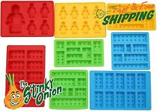 Lego Candy Mold 8pc Set Chocolate Blocks Build Silicone