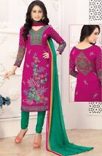 Elegant Crepe Designer Printed Unstitched Dress Material Suit D.No SFD11022
