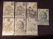 DK III The Master Race B&W Hard Copy Lot! VF-NM!
