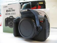Canon EOS Rebel T4i / 650D 18.0 MP Digital SLR Camera - Black (Body Only./,