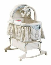 NEW & SEALED! Delta Children Enterprise Corp Clayton Rocking Bassinet