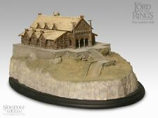 The Lord Of The Rings Sideshow Weta- Golden Hall Polystone Environment