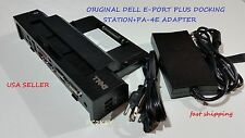 Dell Docking Station PR02X E-Port Plus Replicator +PA-4E FAMILY Adapter