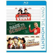 My Cousin Vinny/Back to School/City Slickers (Blu-ray Disc, 2012, 3-Disc Set)