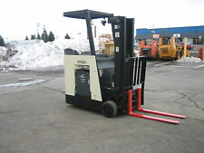 "2006 CROWN  DOCKSTOCKER FORKLIFT WITH 2014 BATTERY 3000# 190"" LIFT,SIDE SHIFTER"