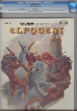 Elfquest #1 (Warp)  CGC 9.4 1978 3 rd  Print Best ever Rare! Magazine Size.