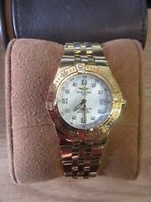 Breitling Ladies Starliner with Original Diamond Bezel 18k Yellow Gold - K71340