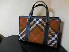 Burberry Blue label Cute Handbag very Rare very good condition.!!!