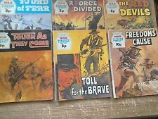 Six War Picture Library Comics.#1057/#1059/#1065/#1106/#1118/#1138.