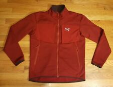 MENS ARCTERYX POLARTEC JACKET SIZE MEDIUM SUPREME QUALITY FULL ZIP EUC