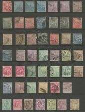 CAPE OF GOOD HOPE   COLLECTION OF 48 USED STAMPS   SEE SCANS