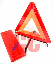 Warning Safety Triangle emergency red reflective car breakdown EU travel + CASE