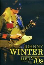 Johnny Winter: Live Through the '70s (2008, DVD NIEUW)
