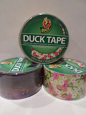 Duck Brand Pink Flamingo Duct Tape + Multi Color 5 Rolls 1.88x10yd
