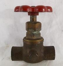 """Vintage SA 5/8"""" Brass Ball Check Valve Gas Engine Tractor"""