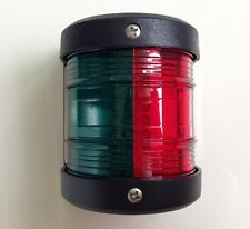 MARINE BOAT YACHT RED & GREEN BOW NAVIGATION LIGHT STARBOARD PORT LED LIGHT