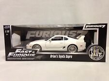 Fast Furious Brain's Toyota Supra ,Special Edition, 1:18 Diecast, Jada Toys, WT