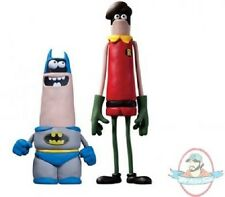 Aardman Classic Batman & Robin Wonder Con Exclusive 2 Pack DC Comics