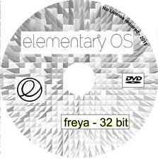 Elementary OS Freya 32 bit Live Linux Operating System for desktops, netbooks