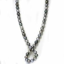 Tahitian South Sea opera Pearl Necklace  15 - 14 mm AAA Multi Color 14k 35""