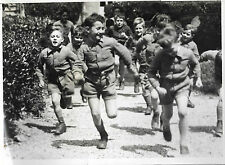 PHOTO L.A.P.I + 21 juin 1943 + COURSE d'ENFANTS en vacances = Secours National