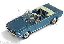 1965 FORD MUSTANG CONVERTIBLE in Light Blue 1/43 scale model by PREMIUM X