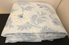 "New Curtains Laura Ashley MTM Sandford Seaspray Blue 74"" 188cm W 102.5"" 260cm L"