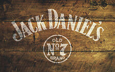 Jack Daniel's No.7 Stencil Furniture Pub Art Painting Airbrush Bodywork Mylar A4