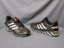 Adidas Springblade Razor J Athletic Sneakers Black Silver Red Boys Size 5 FMWOB!