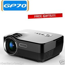 Original SimpleBeamer HQ LED Mini Projector GP70, 1200 Lm Family Home Theater