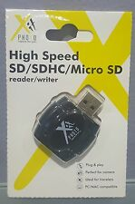 MS) Xit SD/SDHC Micro SD High Speed USB Card Reader Writer Camera Photography