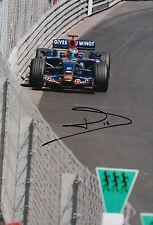Sebastien Bourdais Hand Signed 12x8 Photo Scuderia Toro Rosso F1 10.