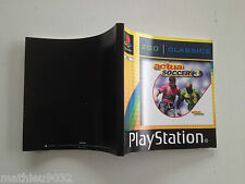 Notice/manuel/mode d'emploi Actua Soccer 3 SONY Playstation 1 PAL FR