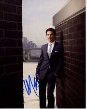 MATT BOMER Signed Autographed WHITE COLLAR NEAL CAFFREY Photo